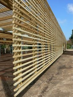 Project - JC Raulston Arboretum Lath House by Frank Harmon Architect PA - Architizer