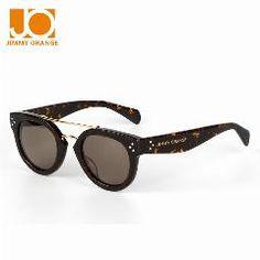 [ 18% OFF ] Jimmy Orange 2016 Summer Retro Cat Eye Sunglasses Plate Glasses Men Women Brand Designer Sunglasses Sport Sunglasses Cl41043