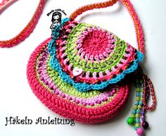 Crochet Child s Bag Pattern : 1000+ images about Crochet Child Scarves, Bags on Pinterest