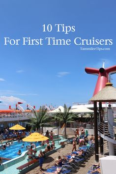 Blog post at Tammilee Tips : Are you heading out on your first cruise or thinking about planning a cruise vacation?  Here are 10 tips for first time cruisers that will[..]
