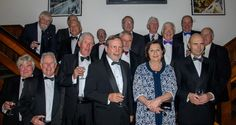 Leavers from 1966-68 at the 2017 Annual Dinner