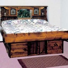 Loved the waterbed! Was a pain to move, though--draining it, then refilling.  Took hours!