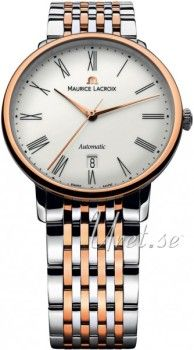 Maurice Lacroix Les Classiques Tradition Timeless design and first-class handiwork characterize the quality of the Swiss watchmaker's art: this is proven by the new timepieces in pink gold or steel in the Les Classiques Tradition collection, a subcollecti Maurice Lacroix, Audemars Piguet, New Model, Timeless Design, Luxury Watches, Pink And Gold, Bracelet Watch, Traditional