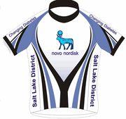 Novo Nordisk bike jersey, Diabetes Cycling jersey