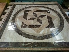 Our newest way of squaring our medallions.  To me it looks like a water jet medallion without the big price tag