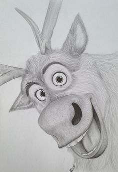 My Sven drawing frozen