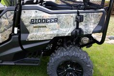 New 2016 Honda Pioneer 1000-5 Deluxe Honda Phantom Camo ATVs For Sale in Wisconsin. 2016 Honda Pioneer 1000-5 Deluxe Honda Phantom Camo, Best ATV side by side for hunting. Seats 3 or 5 with all the bells and whistles. 2016 Honda® Pioneer 1000-5 Deluxe Honda Phantom Camo® Step Up To The Best Some adventures demand more. For those adventures, you need the best. The toughest. The smartest. And the most powerful. For those adventures, you need the all-new Pioneer 1000-5. The ultimate…