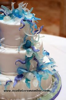 Chihuly Wedding Cake A cake to remember