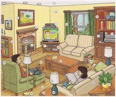 Praatplaat de huiskamer van oma en opa