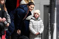 Newmyroyals: Ockelbo Hockey Hall Opening, January 25, 2018-Crown Princess Victoria and Princess Estelle