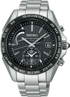 Seiko Brights Reinforced Solar Radio SAGA119 Watch $1417
