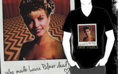 """TWIN PEAKS - """"Who made Laura Palmer Dead?"""" by Slightly Wrong Quotes"""