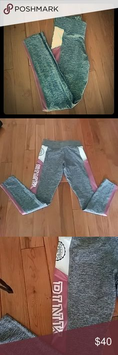 PINK Victoria's Secret Ultimate Work-out Pants Brand new without tags. Authentic PINK Victoria's Secret Ultimate Work-out Pants. Super cute and they do have pockets built in. Colors are Gray, white and Blush Pink. Price is firm unless bundled. PINK Victoria's Secret Pants Track Pants & Joggers