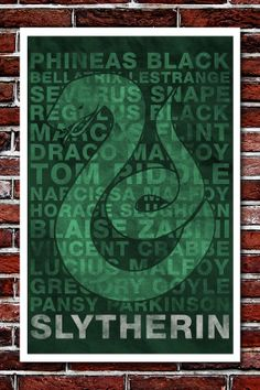 Famous Slytherins. We have our dark side (but who doesn't?), but we also have ultimately good people in Phineas Black, Severus Snape, Regulus Black, Draco & Narcissa Malfoy, and Horace Slughorn. <3