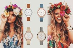 Hippie Girls #fossil #skagen #fossilgroup #fashion #hippie #flowerpower Hippie Girls, Skagen, Flower Power, Fossil, Latest Trends, Take That, Style, Fashion, Swag