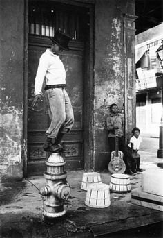 New Orleans, 60s  - Photo by William Claxton