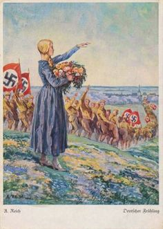 Postcards Collection – Third Reich Springtime Cards
