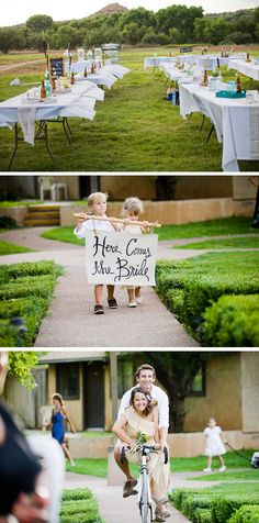 Love the middle picture! Such a cute idea!