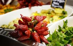Istanbul Grill, Luzern - beautiful buffet of Middle Eastern specialities (http://www.istanbul-grill.ch)