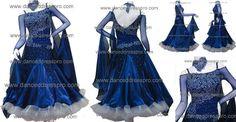Modern dance dress  model no. 1086 www.dancedresspro.com/standard01086.htm