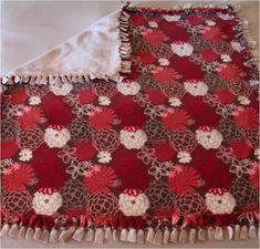 DIY No-Sew Fleece Blankets {easy handmade gifts!}