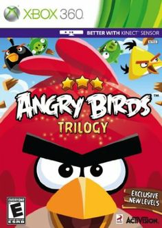 Angry Birds (Activision) is now available on the Xbox Sony Playstation, and Nintendo I saw the Xbox Kinect . Nintendo 3ds Games, Xbox 360 Games, Xbox Games, Nintendo Switch, Wii U, Angry Birds Seasons, Activision Blizzard, 3d Mode, Video Game Collection
