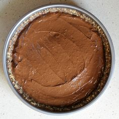A total kitchen novice can make this vegan chocolate pie in a breeze. Chocolate Strawberry Pie, Chocolate Pies, Vegan Chocolate, Plant Based Recipes, Breeze, Peanut Butter, Baking, Eat, Kitchen