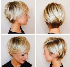 Inspiration for when I grow out my pixie