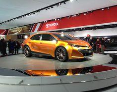 #Toyota Furia concept arrives at #NAIAS. #Corolla More details: http://www.autoweek.com/article/20130114/DETROIT/130119905
