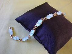 Vintage Gold Tone Pale Blue Lucite Women's by EternalElementsEtsy