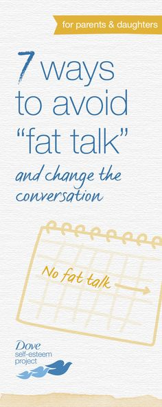 We learn this from our mothers... #doveselfesteem #bodyimage #nofattalk #selfconfidence Visit: http://selfesteem.dove.us/