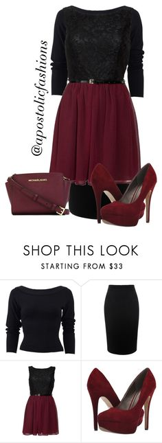 """Apostolic Fashions #1089"" by apostolicfashions on Polyvore featuring Donna Karan, Alexander McQueen, Michael Antonio, MICHAEL Michael Kors, women's clothing, women, female, woman, misses and juniors"