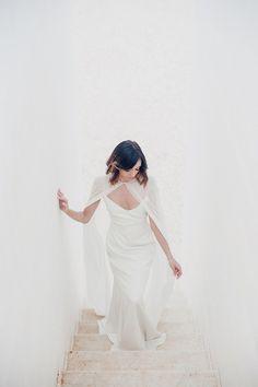 Alexandra Grecco - Astrid Slip Gown & Annika Cape