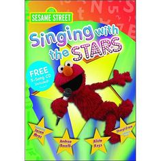 Sesame Street: Singing With The Stars (With Music CD)