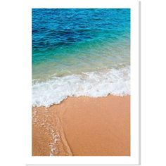 Domino Hawaiian Shore 20 x14 ($36) ❤ liked on Polyvore featuring home, home…