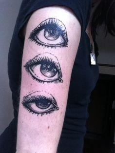 Brucius Tattoo - #Etching   #Eyetattoo #Eye  #Brucius