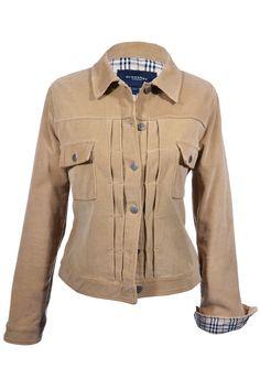 #Burberry London | Lässige #Cordjacke aus reiner Baumwolle, Gr.M | Burberry | mymint-shop.com | Ihr #OnlineShop für #Secondhand / #Vintage #Designerkleidung & #Accessoires bis zu -90% vom Neupreis das ganze Jahr