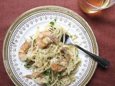 Shrimp Scampi | An Italian-American classic, shrimp scampi is a simple dish of sauteed shrimp tossed with a sauce of white wine, garlic, lemon juice, and butter, then served with pasta.