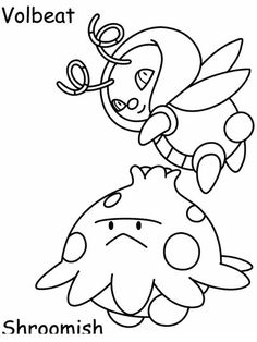 Desenhos para pintar Pokemon 56