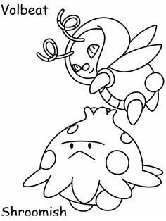 Disegni da colorare per bambini. Colorare e stampa Pokemon 56