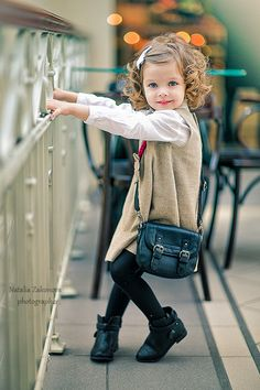 How adorable is this little one? Lovely style! #toddlerfashion #kids