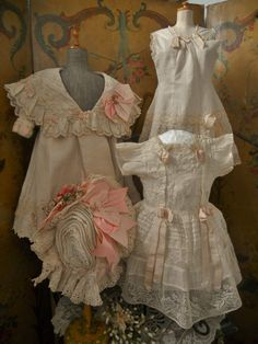 ~~~ Marvelous 4 Piece French Bebe Couture Outfit ~~~ from whendreamscometrue on Ruby Lane