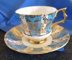 Royal Windsor China Tea Cup Saucer Numbered | eBay