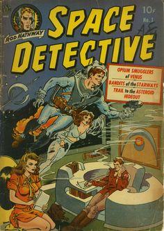 Space Detective #1