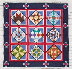 RJR Barn Quilt Trail Midwest Quilt - White