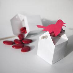 Ballotins dragées : kit oiseaux chantants