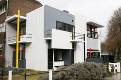 Rietveld Schroder House in Utrecht, Holland