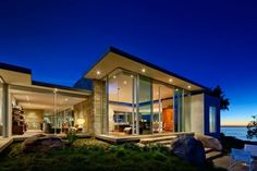 Luxury house design with view-Modern Art Carpinteria Foothills Residence by Neumann Mendro Andrulaitis Architects in Carpinteria, California Design Exterior, Modern Exterior, Stone Exterior, Contemporary Architecture, Interior Architecture, Computer Architecture, Creative Architecture, Contemporary Houses, Contemporary Style