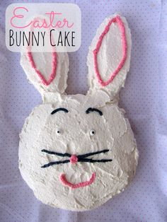 Easter Bunny Cake and more Easter cake decorating ideas