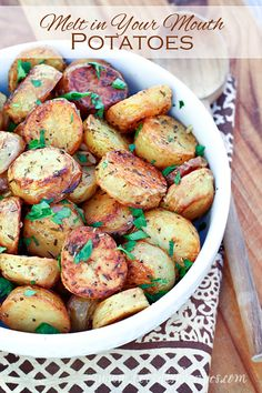 As far as I'm concerned, you can never have to many recipe for cooking, roasting and baking potatoes. They are the one side dish